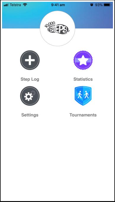 Viewing Tournament progress via the app   10,000 Steps