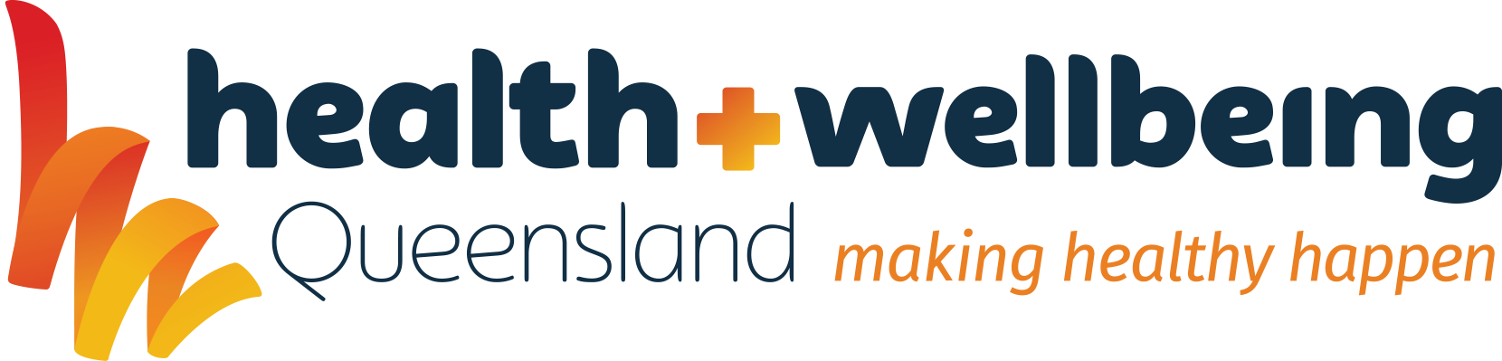 Health and Wellbeing Queensland Logo
